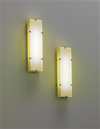large wall lights (pair) by arredoluce (co.)