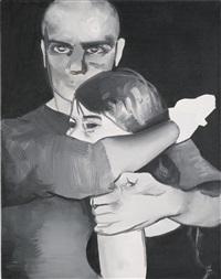 untitled (patrycja and patryk) by wilhelm sasnal