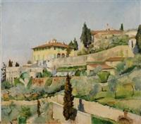 villa medici a fiesole by maria bacci-baccio