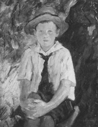 portrait of bradford calif as a boy by stacy tolman