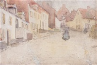 montreuil by frederick carl frieseke