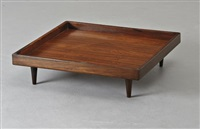 coffee table, model no.5316 by martin eisler and carlo hauner