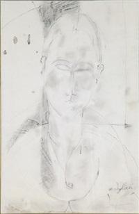 portrait de femme (ritratto di donna) by amedeo modigliani