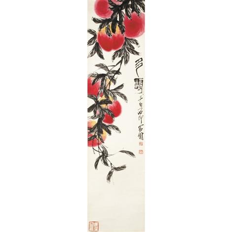 peaches by qi baishi