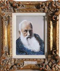 portrait of monet by max karp