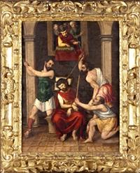 coronación de espinas by joan de joanes
