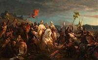 scène de croisade by jules rigo