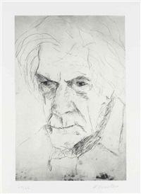 john cage by william anastasi