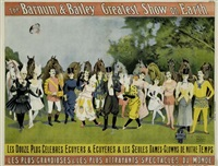 the barnum & bailey greatest show on earth by posters: circus