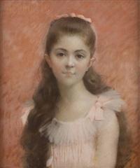 portrait d'henriette by jules charles aviat