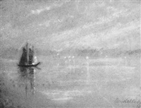 evening, gloucester by eugenie m. heller