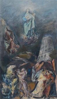 la torre di babele by silvio consadori