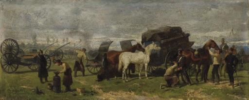 le repos des soldats by louis ludwig braun