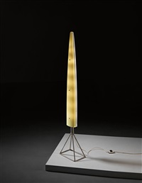 rare siluro standard lamp by gio ponti