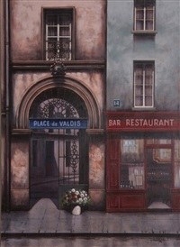 untitled (place de valois) by rugero valdini