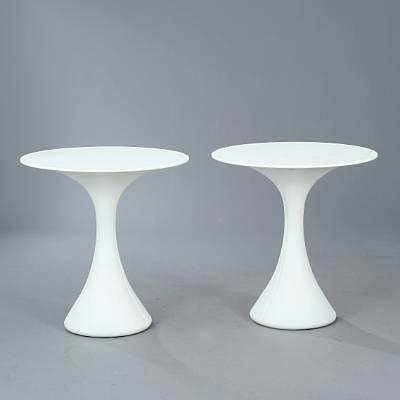 two kissi kissi tables by miki astori