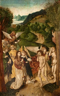utdrivandet ur paradiset by dieric bouts the elder