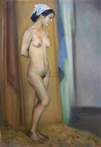 naked lady by liu yiwen