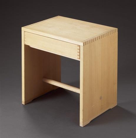 ulmer hocker mit schublade by max bill hans gugelot and paul hildinger on artnet. Black Bedroom Furniture Sets. Home Design Ideas