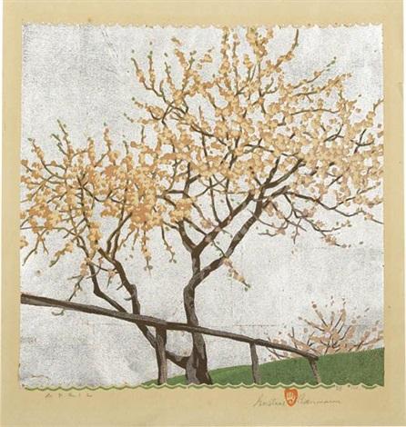 april by gustave baumann