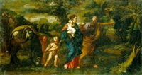 the flight into egypt by giovanni battista pace
