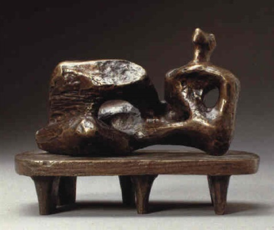 maquette for unesco reclining figure by henry moore & Maquette for UNESCO reclining figure by Henry Moore on artnet islam-shia.org
