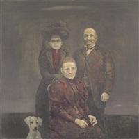 famille au chien by boris zaborov