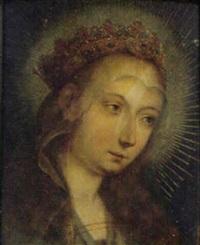 den kronede jomfru maria by george geldorp