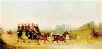 horse drawn carriage by philip h. rideout