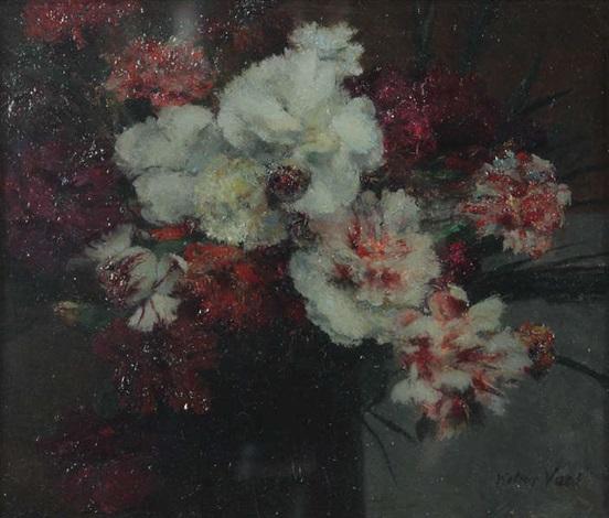 nature morte avec vase de fleurs by walter vaes