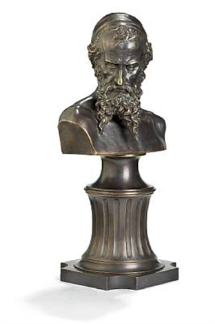 nathan the wise bust by mark matveevich antokolsky