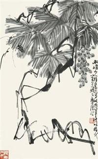 葡萄草虫 by xu linlu