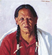 taos indian by henry balink