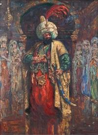 le sultan au harem by allan egnell