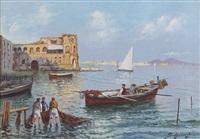 pescatori a napoli by giuseppe scognamiglio