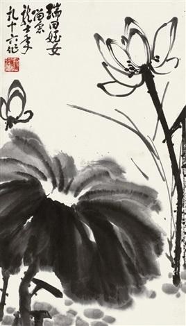 荷花 by xiao longshi