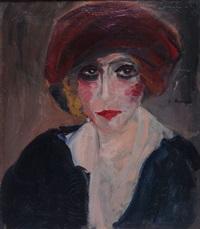 portrait einer dame by k. honart