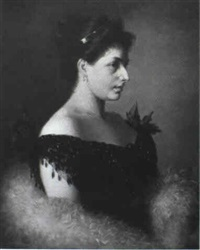 portrait of sarah bernhardt by julie menzel