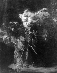 a still life of flowers by henri frédéric boot