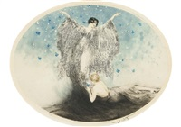 small butterfly by louis icart