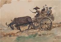ploughing the field by yong mun sen