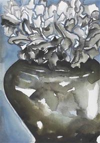 flowers by francesco clemente