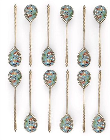 spoons set of 12 by nikolai alexeev
