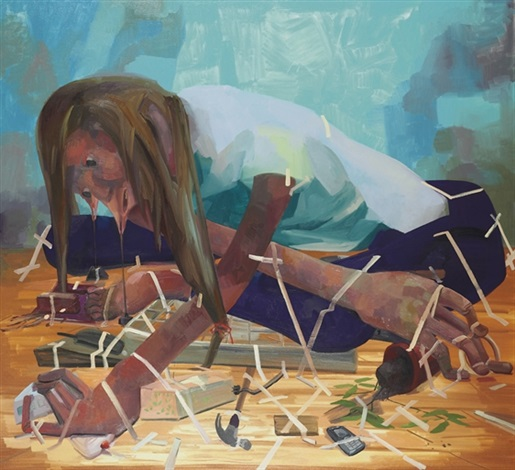 gravity fanatic by dana schutz