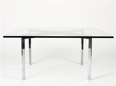 barcelona low table by ludwig mies van der rohe