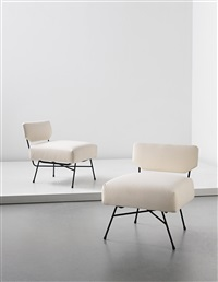 early elettra chairs (pair) by studio architetti b.b.p.r. (co.)