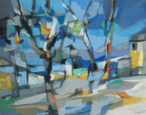 le lac violet by marcel mouly
