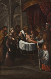 circumcision of child jesus by josé de avelar rebelo