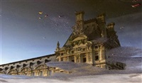 reflet du louvre by ines ader