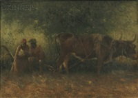 on the plantation by harry herman roseland